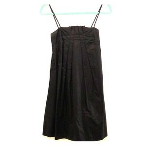 French Connection Black Pleated Dress Sz 0